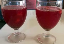 Probiotic kanji juice