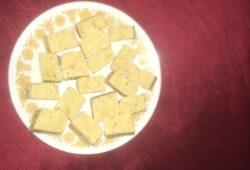 Microwave barfi recipe