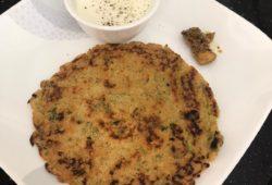 Besan Puras (pancakes)