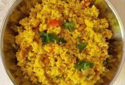 Millet and mung dal khichdi